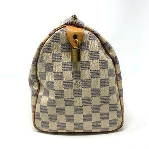 Louis Vuitton Bags - Auth Louis Vuitton Speedy 30 Damier Azur Tote Bag